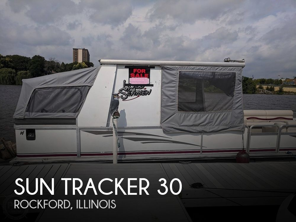 1997 Sun Tracker Party Hut 30
