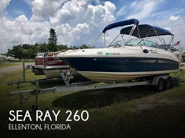Used Sea Ray Deck Boats For Sale in Florida by owner | 2007 Sea Ray 26