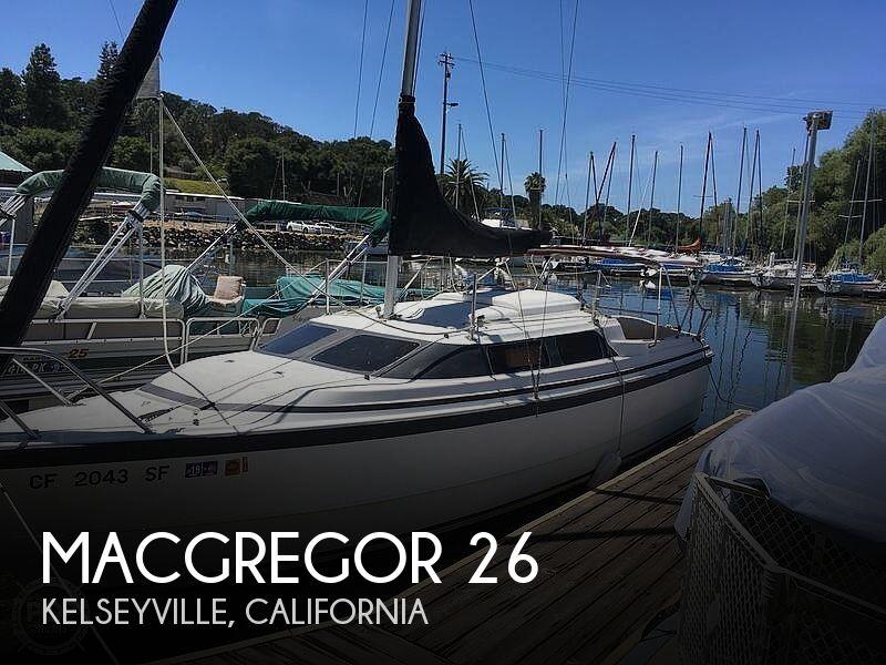 Used MacGregor Boats For Sale in Santa Rosa, California by owner | 2001 MacGregor 26