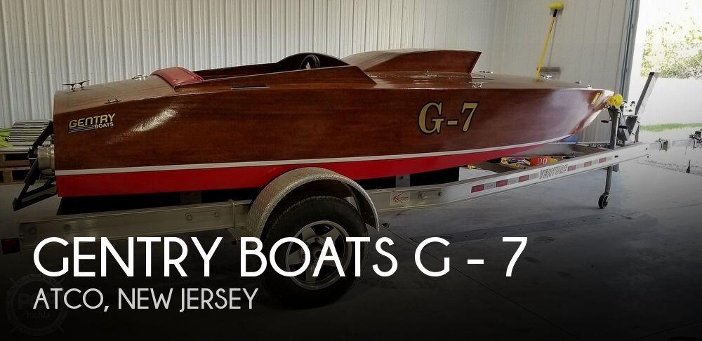 2015 Gentry Boats boat for sale, model of the boat is G - 7 & Image # 1 of 40