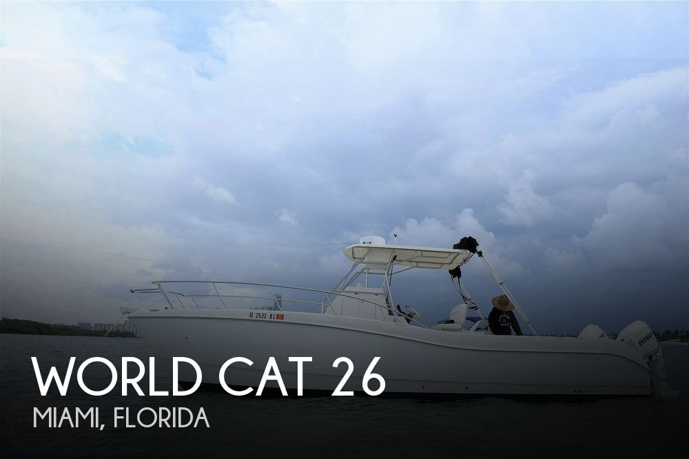 Used World Cat Boats For Sale by owner | 1998 World Cat 26