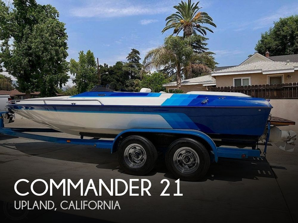 Used Commander Boats For Sale by owner | 1989 Commander 21
