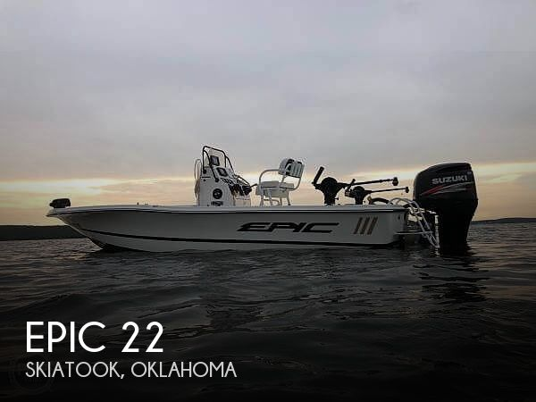 Used Boats For Sale in Oklahoma by owner | 2015 Epic 22