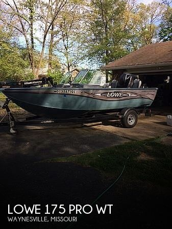 2014 Lowe boat for sale, model of the boat is 175 Pro WT & Image # 1 of 10