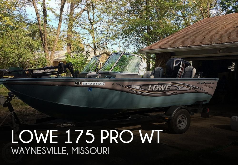 Used Lowe Fishing boats For Sale by owner | 2014 Lowe 175 Pro WT