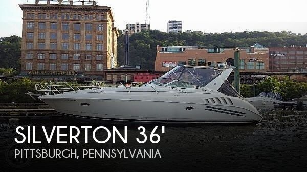 Used Boats For Sale in Pittsburgh, Pennsylvania by owner | 1995 Silverton 361 Express