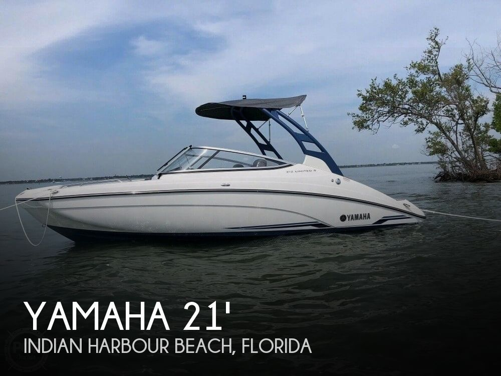 Used Yamaha Boats For Sale in Florida by owner | 2018 Yamaha 21