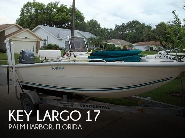 Used Key largo Boats For Sale by owner   2010 Key Largo 17