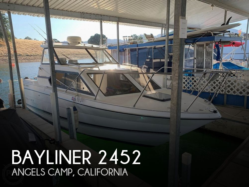 Used Bayliner Boats For Sale in Sacramento, California by owner   1995 Bayliner 2452 Classic