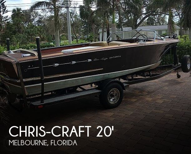 1955 Chris Craft boat for sale, model of the boat is Continental & Image # 1 of 40