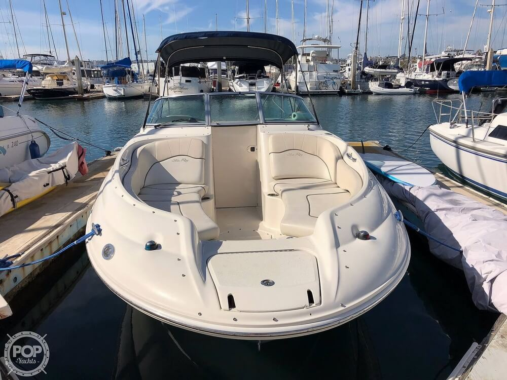 2008 Sea Ray boat for sale, model of the boat is 240 Sun Deck & Image # 3 of 40