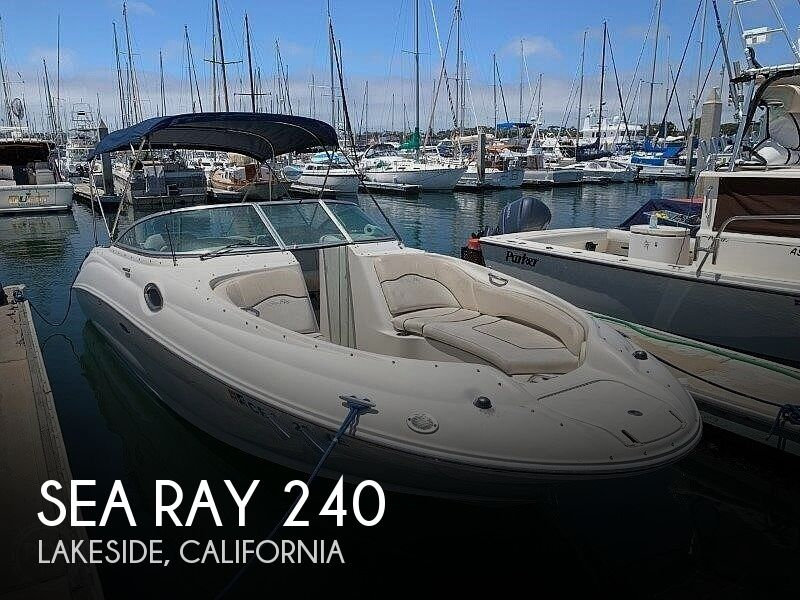 2008 Sea Ray boat for sale, model of the boat is 240 Sun Deck & Image # 1 of 40