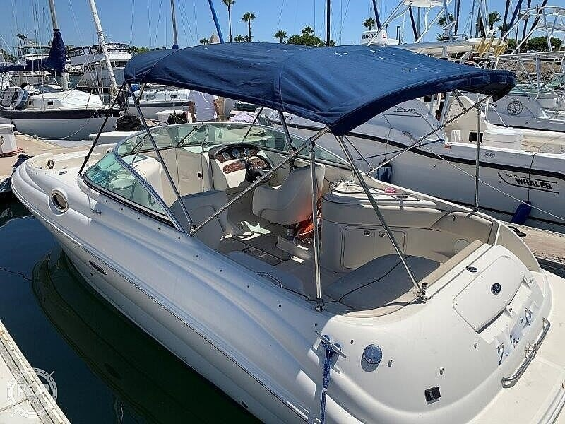 2008 Sea Ray boat for sale, model of the boat is 240 Sun Deck & Image # 18 of 40