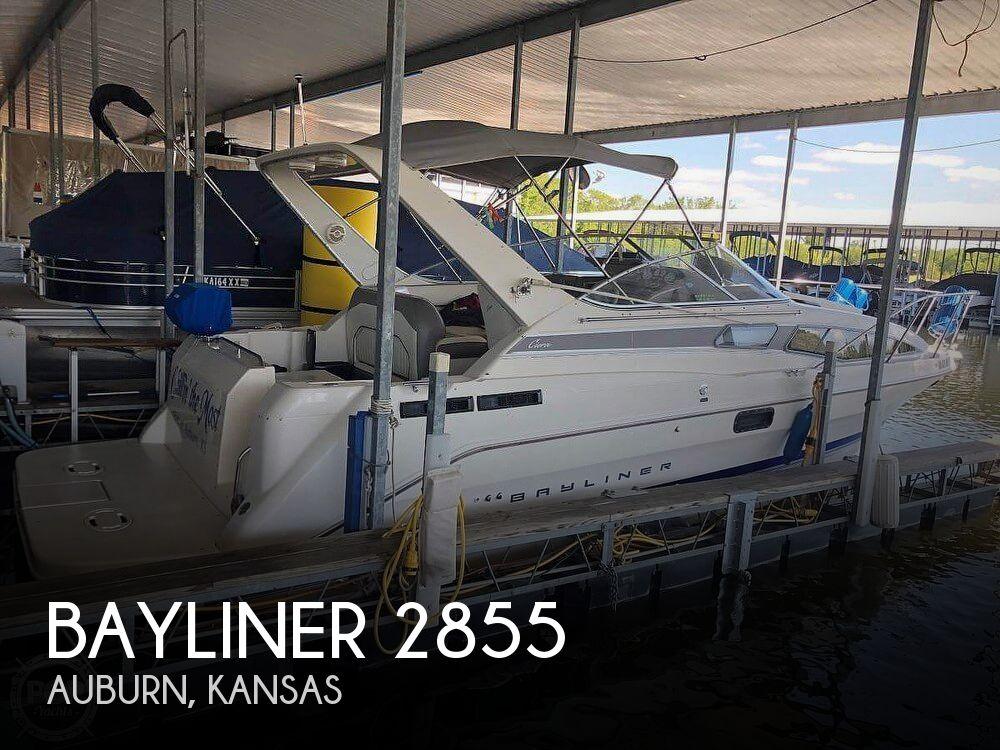 Used Power boats For Sale in Kansas by owner | 1994 Bayliner 2855 Cierra Sunbridge