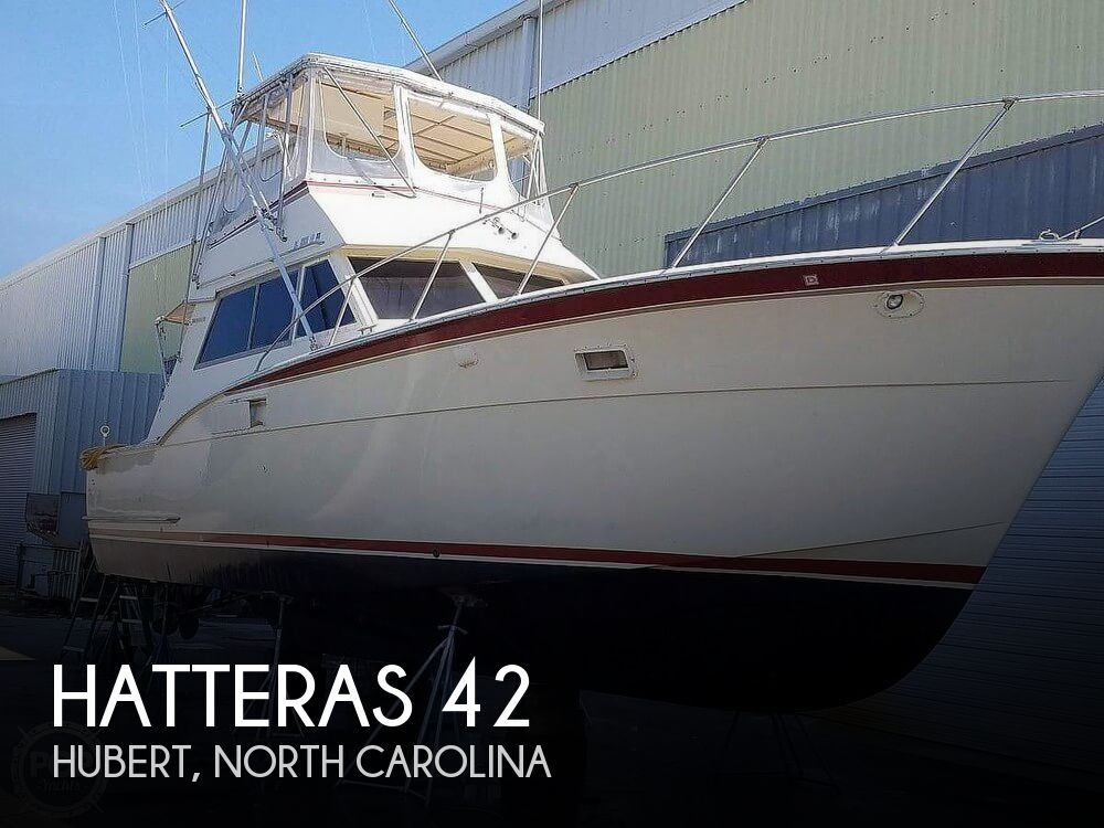 Used Fishing boats For Sale in North Carolina by owner | 1972 Hatteras 42