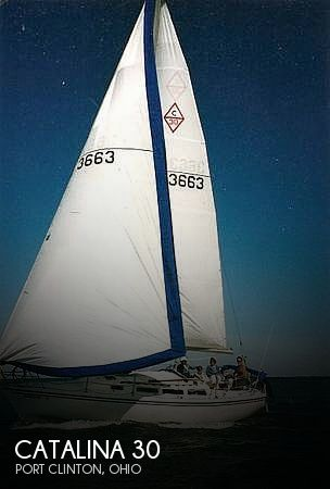 Used Sailboats For Sale in Ohio by owner | 1984 Catalina 30