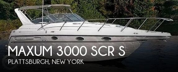 Used Boats For Sale in Burlington, Vermont by owner | 1998 Maxum 3000 SCR s