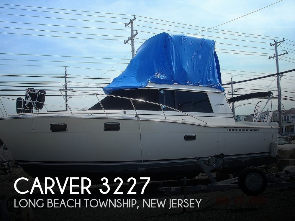 1984 CARVER 3227 CONVERTIBLE for sale