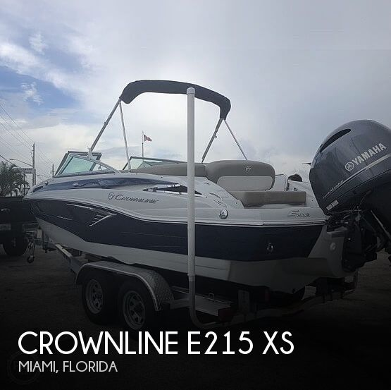 Used Crownline Deck Boats For Sale by owner | 2018 Crownline 21