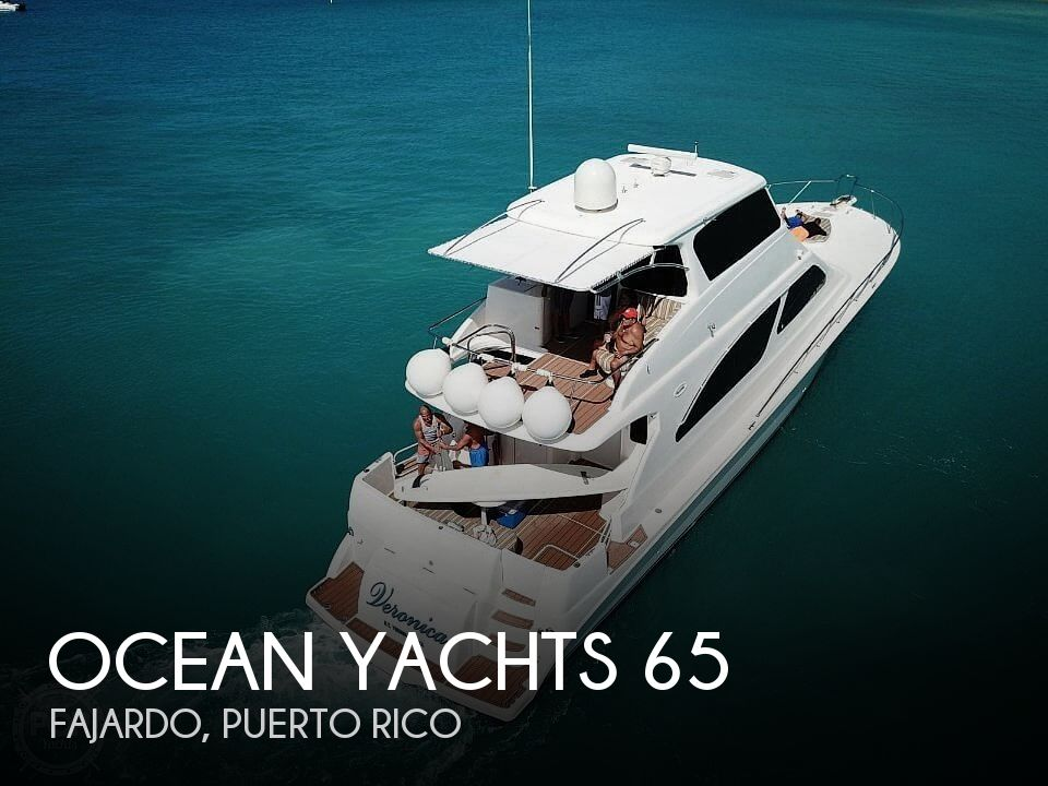 Used Motoryachts For Sale by owner | 2003 Ocean Yachts 65