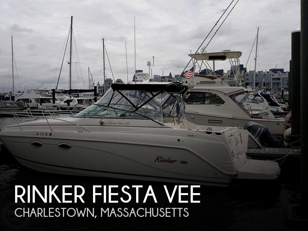 Used Rinker Fiesta Vee Boats For Sale by owner | 2005 27 foot Rinker Fiesta Vee