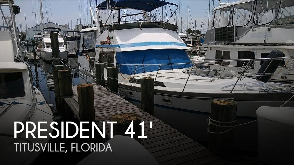 Used President Boats For Sale by owner | 1984 President 41