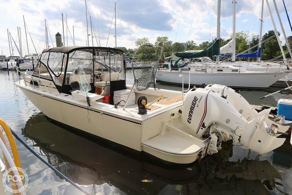 1989 Boston Whaler boat for sale, model of the boat is Outrage 27 & Image # 2 of 40