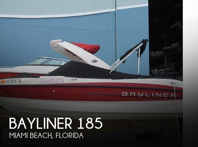 2012 Bayliner boat for sale, model of the boat is 185 & Image # 1 of 13
