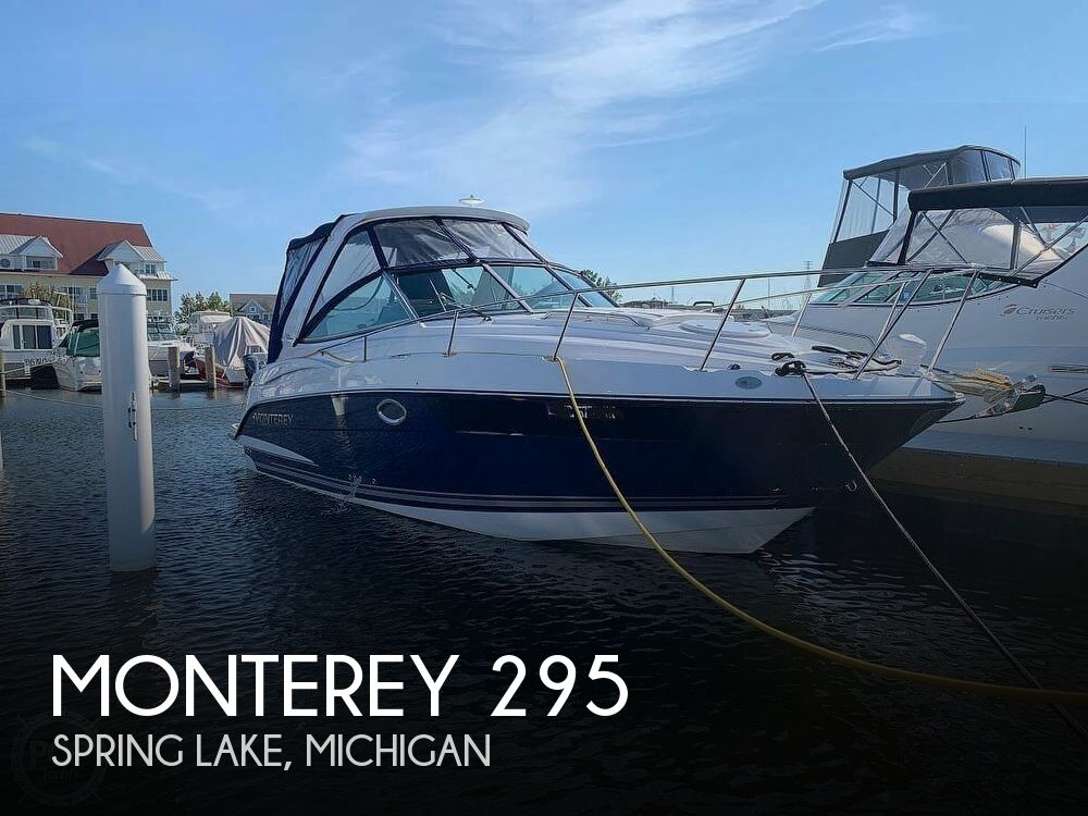 Used Boats For Sale in Michigan by owner | 2017 Monterey 295 Sports Yacht