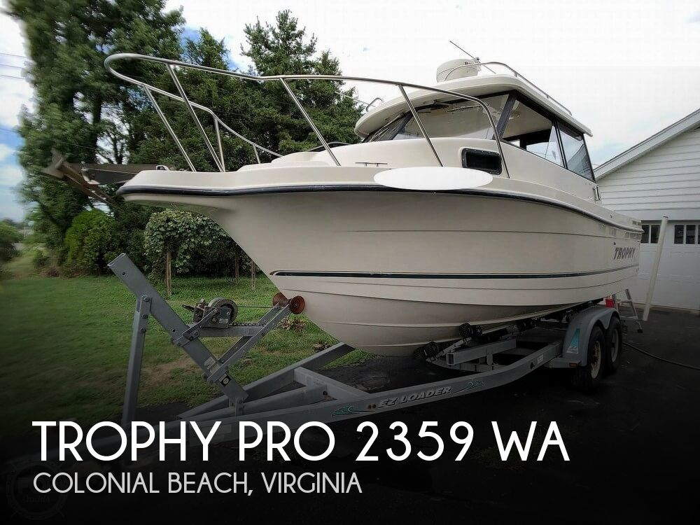 2002 Trophy boat for sale, model of the boat is Pro 2359 WA & Image # 1 of 40