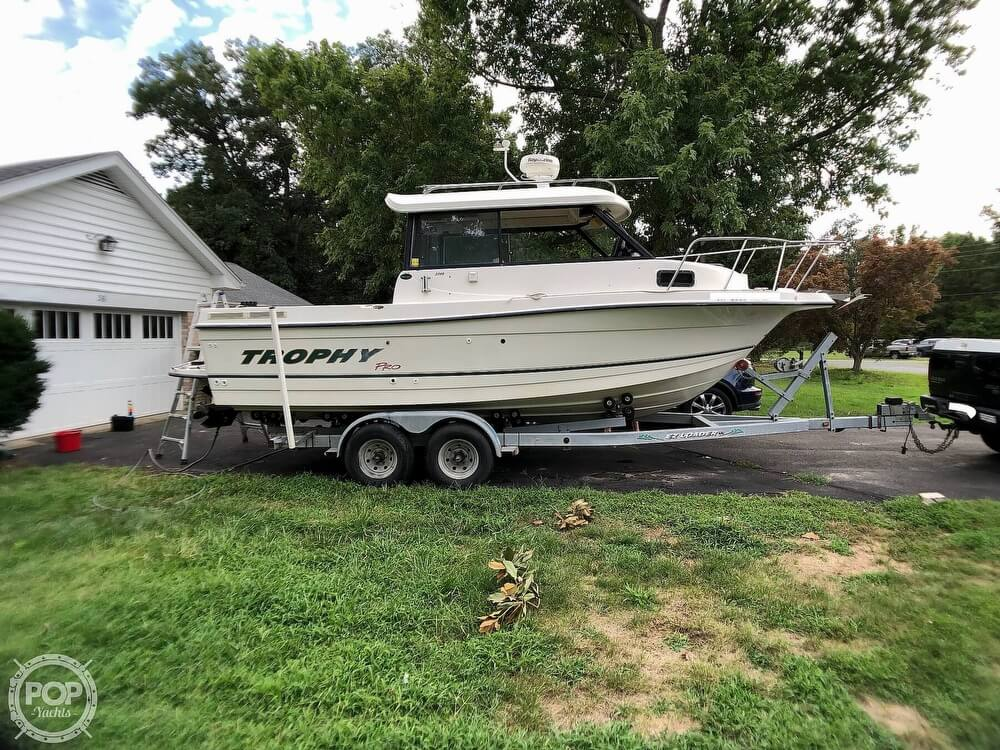 2002 Trophy boat for sale, model of the boat is Pro 2359 WA & Image # 6 of 40