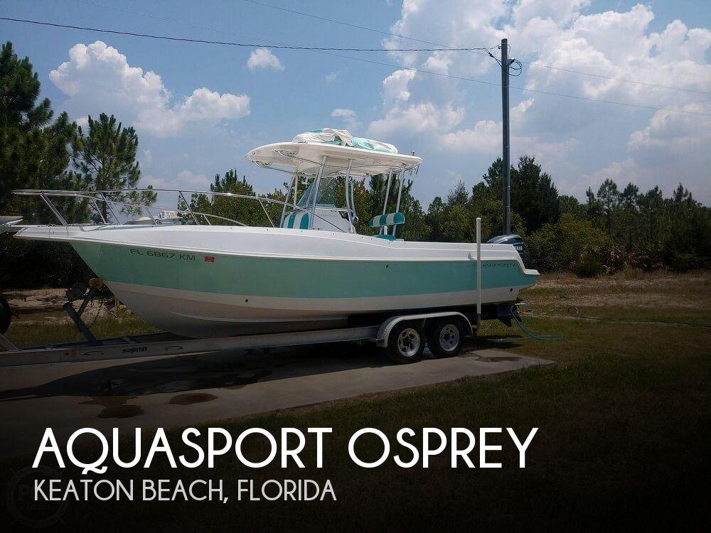 Used Aquasport Boats For Sale by owner | 1997 Aquasport 26
