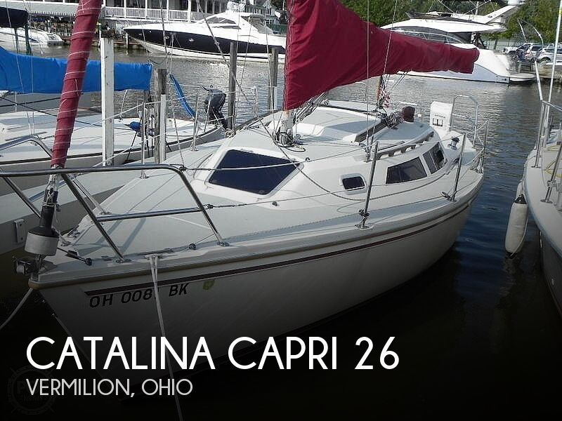 Used Sailboats For Sale in Ohio by owner | 1991 Catalina 26'