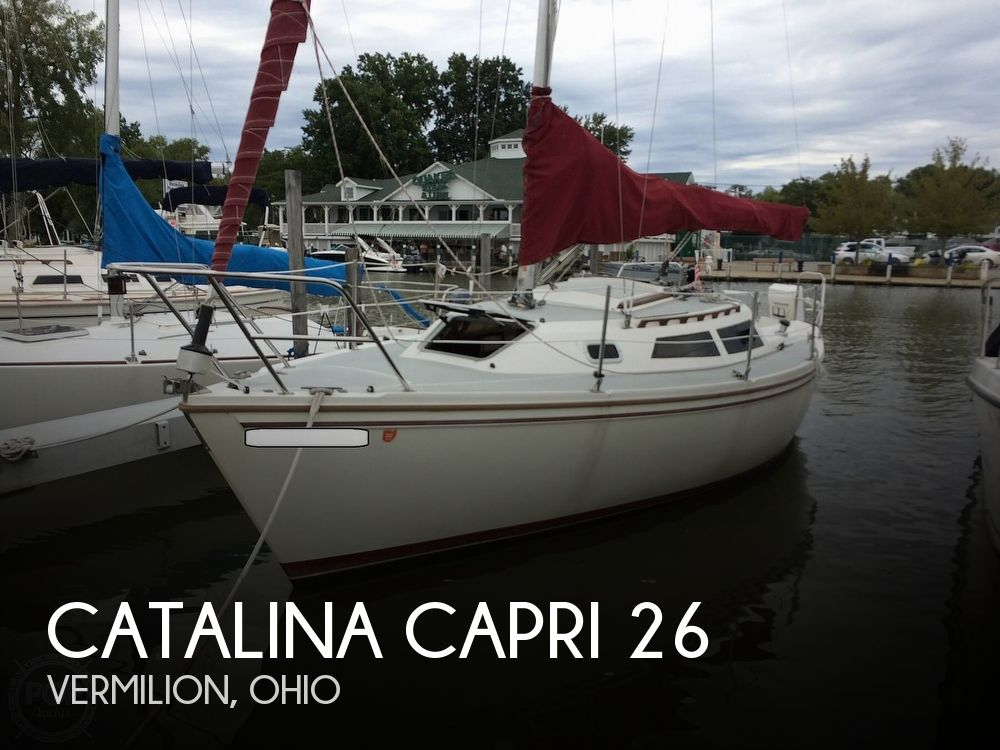 1991 Catalina Yachts boat for sale, model of the boat is Capri 26 & Image # 1 of 40