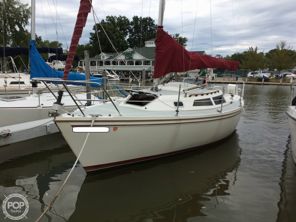 1991 Catalina Yachts boat for sale, model of the boat is Capri 26 & Image # 23 of 40