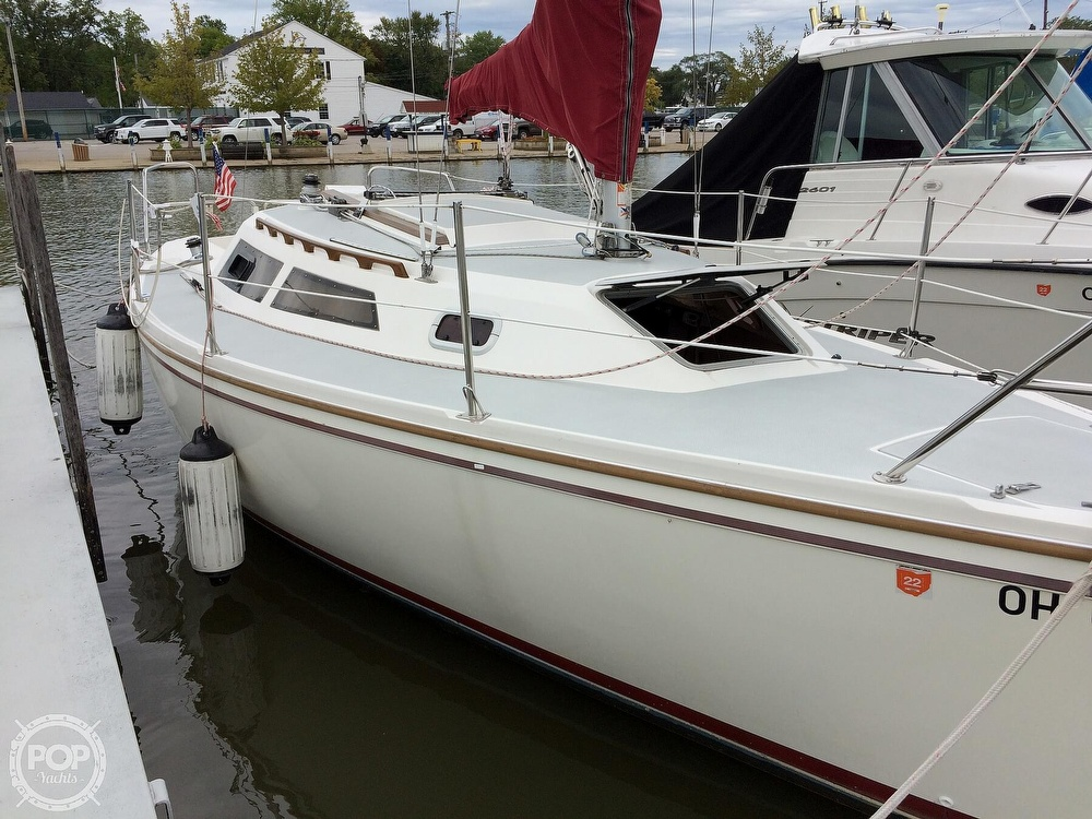 1991 Catalina Yachts boat for sale, model of the boat is Capri 26 & Image # 38 of 40
