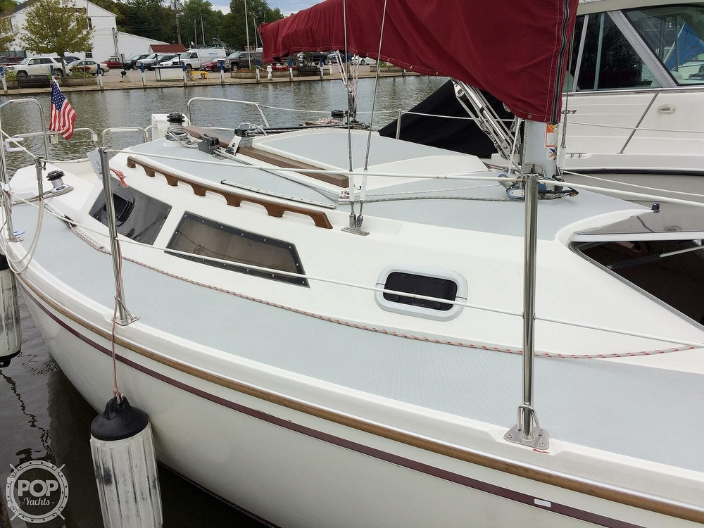 1991 Catalina Yachts boat for sale, model of the boat is Capri 26 & Image # 40 of 40