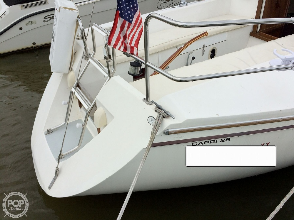 1991 Catalina Yachts boat for sale, model of the boat is Capri 26 & Image # 5 of 40