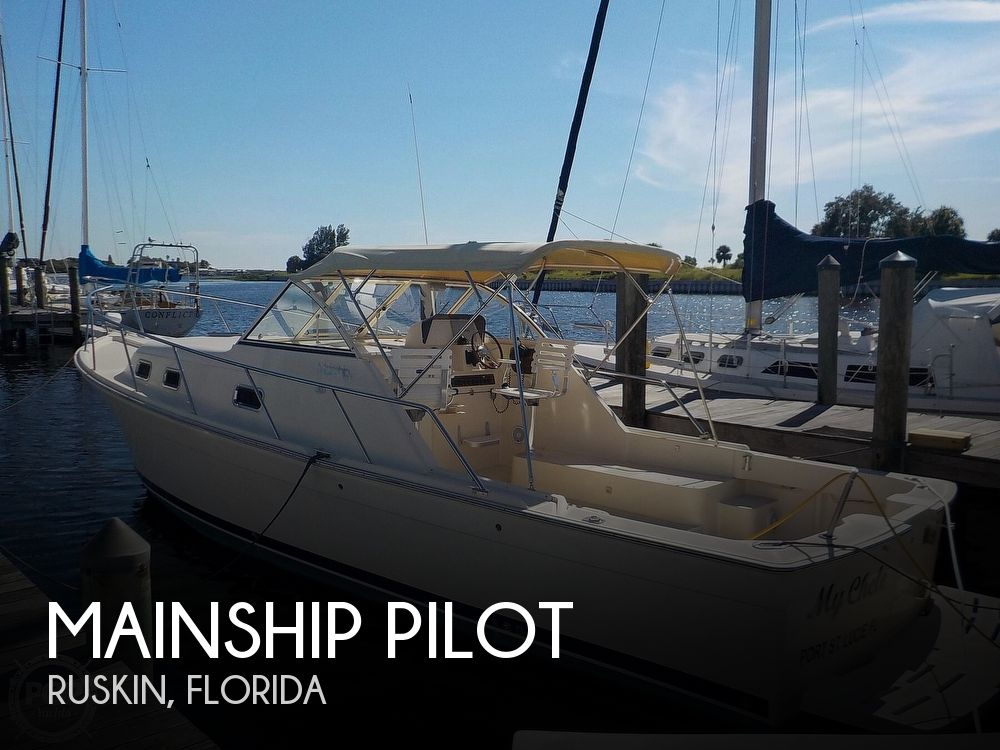 Used Mainship Boats For Sale by owner | 2006 30 foot Mainship Pilot
