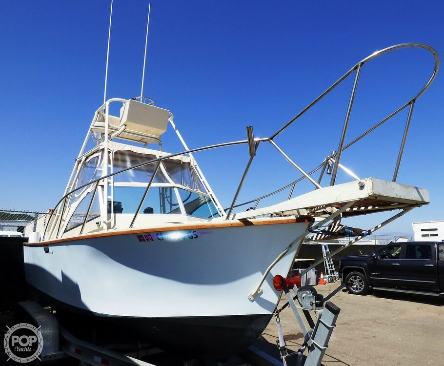 1980 Blackman boat for sale, model of the boat is 23 & Image # 2 of 40