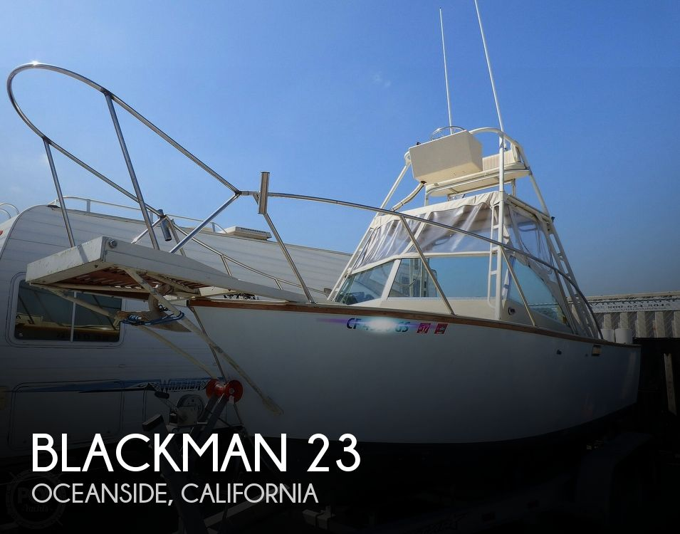 1980 Blackman boat for sale, model of the boat is 23 & Image # 1 of 40