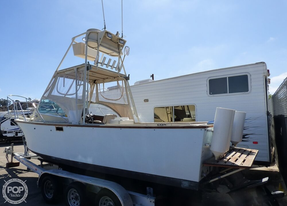 1980 Blackman boat for sale, model of the boat is 23 & Image # 3 of 40