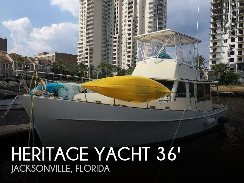 1976 Heritage Yacht West Indian 36