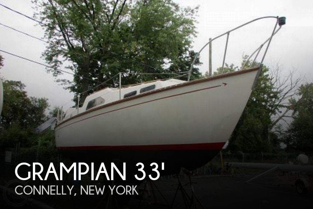 Used Boats For Sale in Bridgeport, Connecticut by owner | 1972 Grampian 34 Center Cockpit Sloop