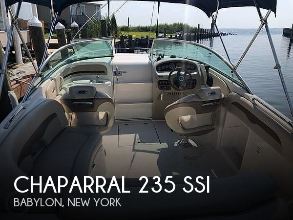 Used Chaparral Boats For Sale in Bridgeport, Connecticut by owner | 2006 Chaparral 235 SSI