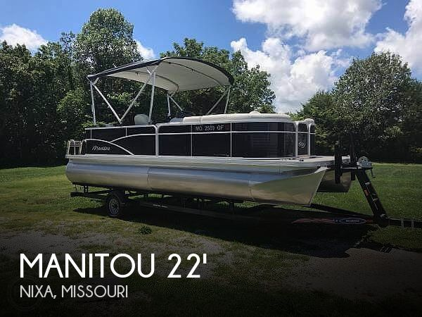 Used Manitou Boats For Sale by owner | 2017 Manitou 22