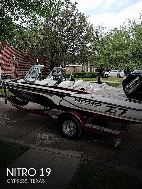 Used NITRO Fishing boats For Sale by owner | 2016 Nitro 19