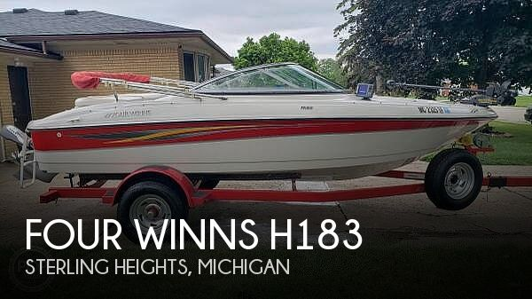 Used FOUR WINNS Boats For Sale in Michigan by owner | 2008 Four Winns 17