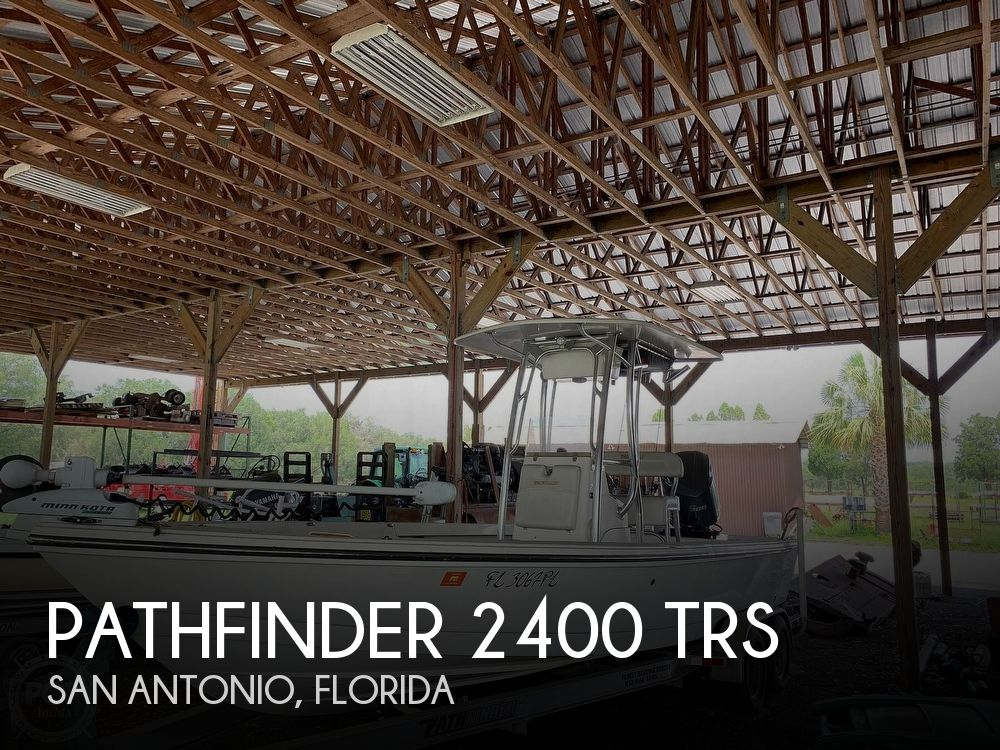 Used Pathfinder Boats For Sale by owner   2012 Pathfinder 2400 TRS