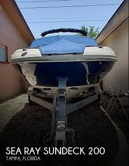 Used Sea Ray Deck Boats For Sale in Florida by owner | 2010 Sea Ray Sundeck 200